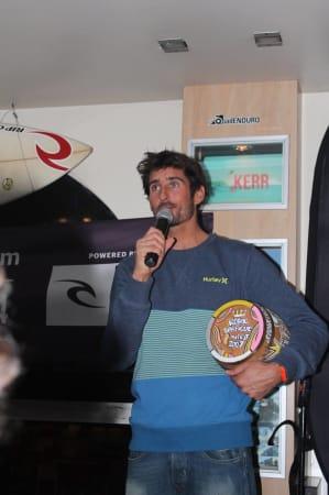 Arnaud Darrigade vainqueur du Royal Barrique 2014