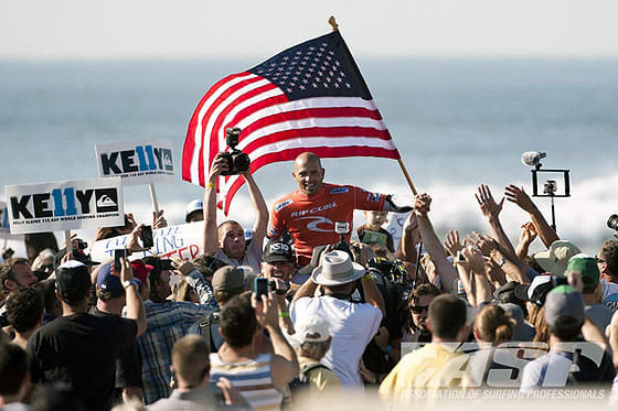 Kelly Slater ASP RipCurl Pro Search Somewhere in San Francisco