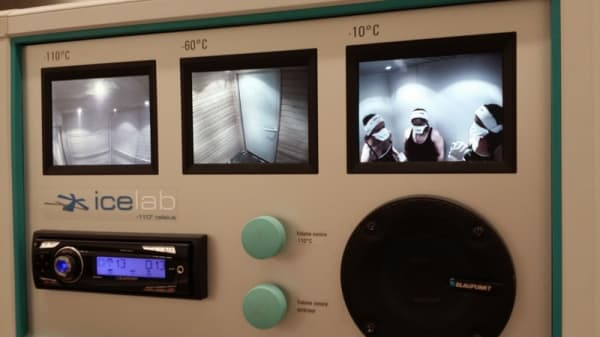 Cryothérapie INSEP