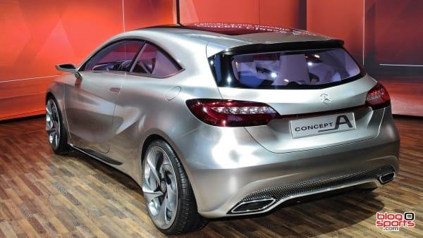 Mercedes nouvelle classe A vue arrière