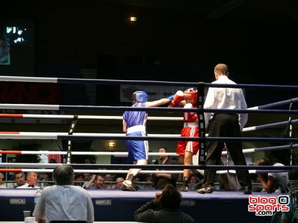 Gihade Lagmiry (US Chambray les Tours) vs Priscilia Peterle (Coudekerque Ring)