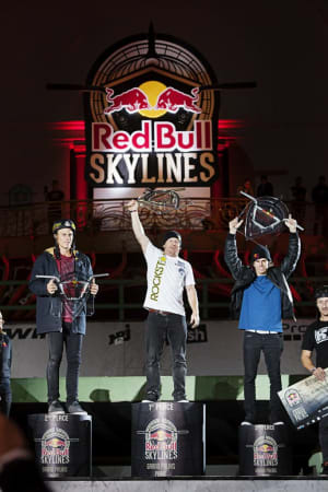 Dennis Enarson, Ryan Nyquist, Daniel Dhers and Ben Hennon - Winners Red Bull Skylines