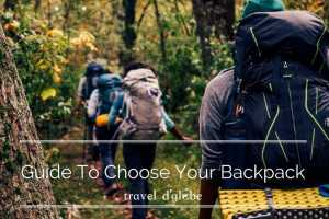 cover for How to choose right backpack for your next adventure