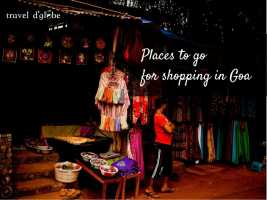 cover for Places for Shopping freaks in Goa