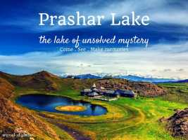 cover for The Unanswered Mysteries of Prashar Lake