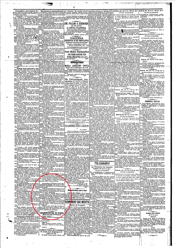 O Primeiro de Janeiro, 1889, nº238