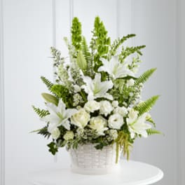 Sympathy And Funeral Flowers Delivery Miami Hirnis Wayside Garden