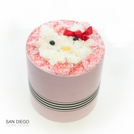 Hello Kitty Flower Box