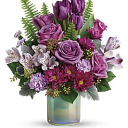 Teleflora's Art Glass Garden Bouquet PM