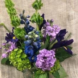 Purple Rain - Varied Purple Flowers in Middleton, WI | Promises