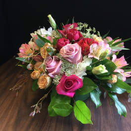 Peach Flowers Delivery Metairie Grow With Us Florist