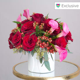 Modern Roses & Callas (BN Exclusive)
