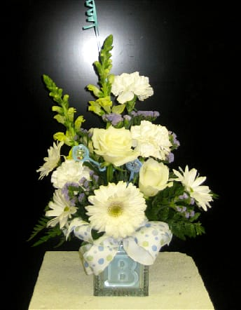 Baby Boy Arrangement By Bartlett Florist Gifts More