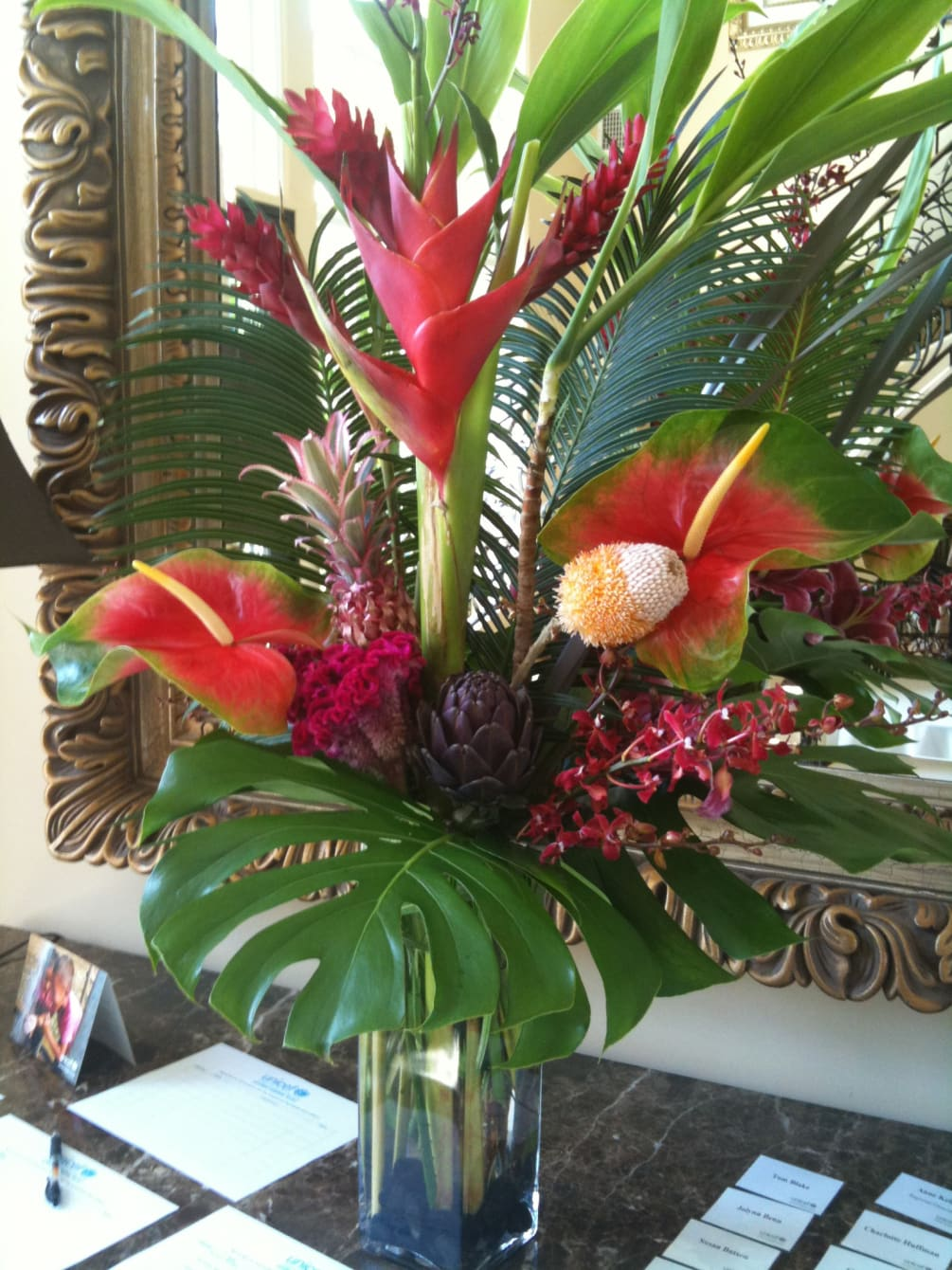 Exotic Tropical By My Flower Guy Flowers Events