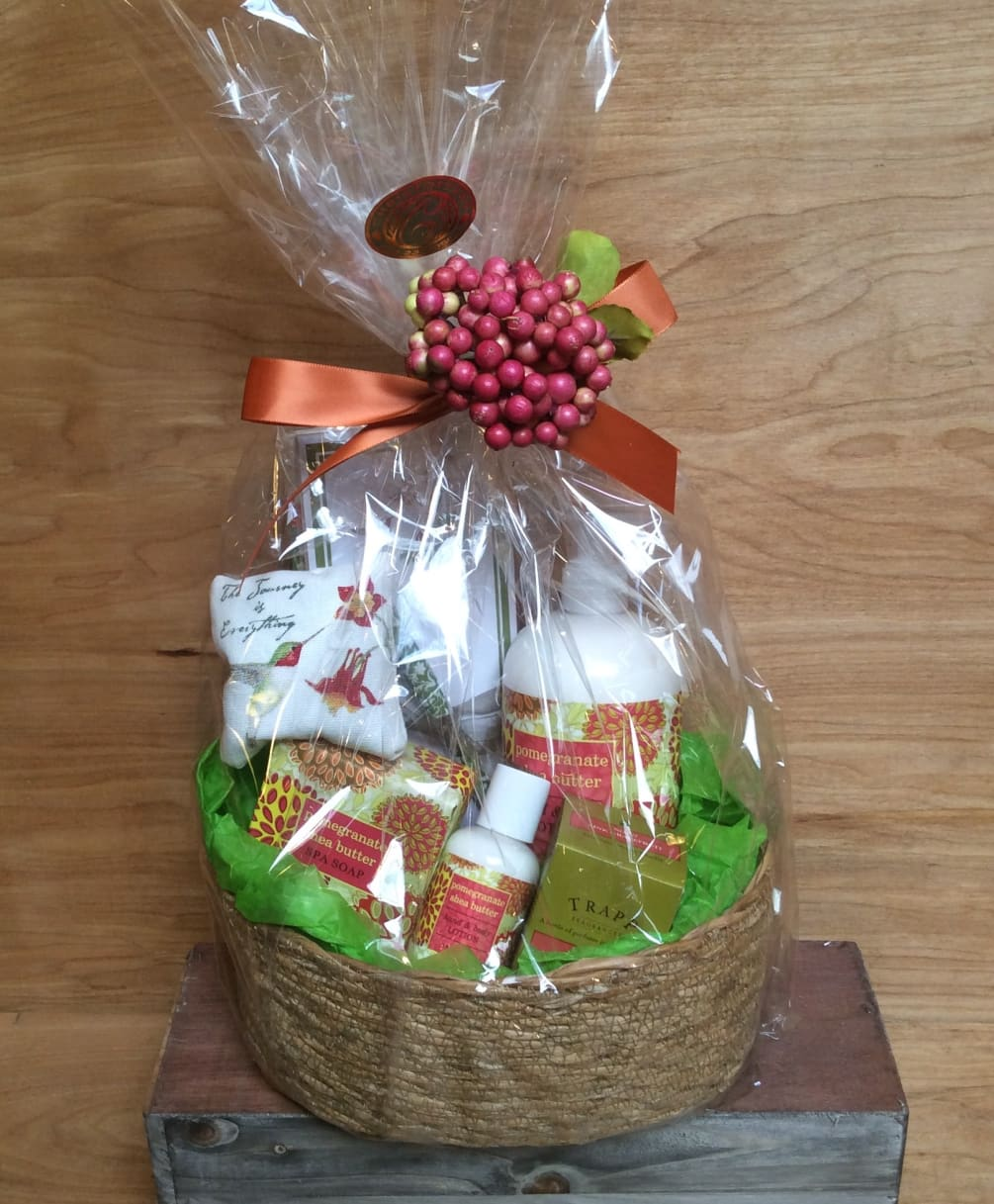 Our Pamper Yourself Basket Is A Great Gift Idea For Birthday