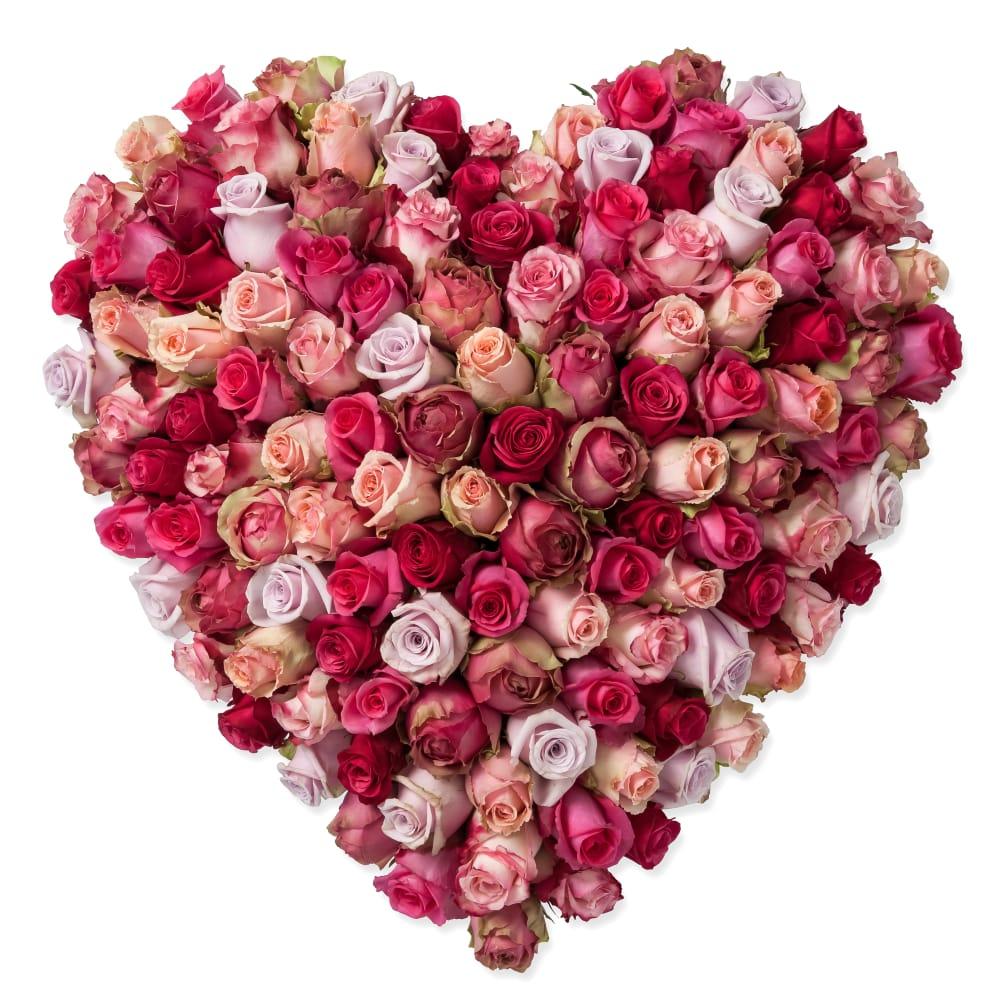 Coeur Damour Rose