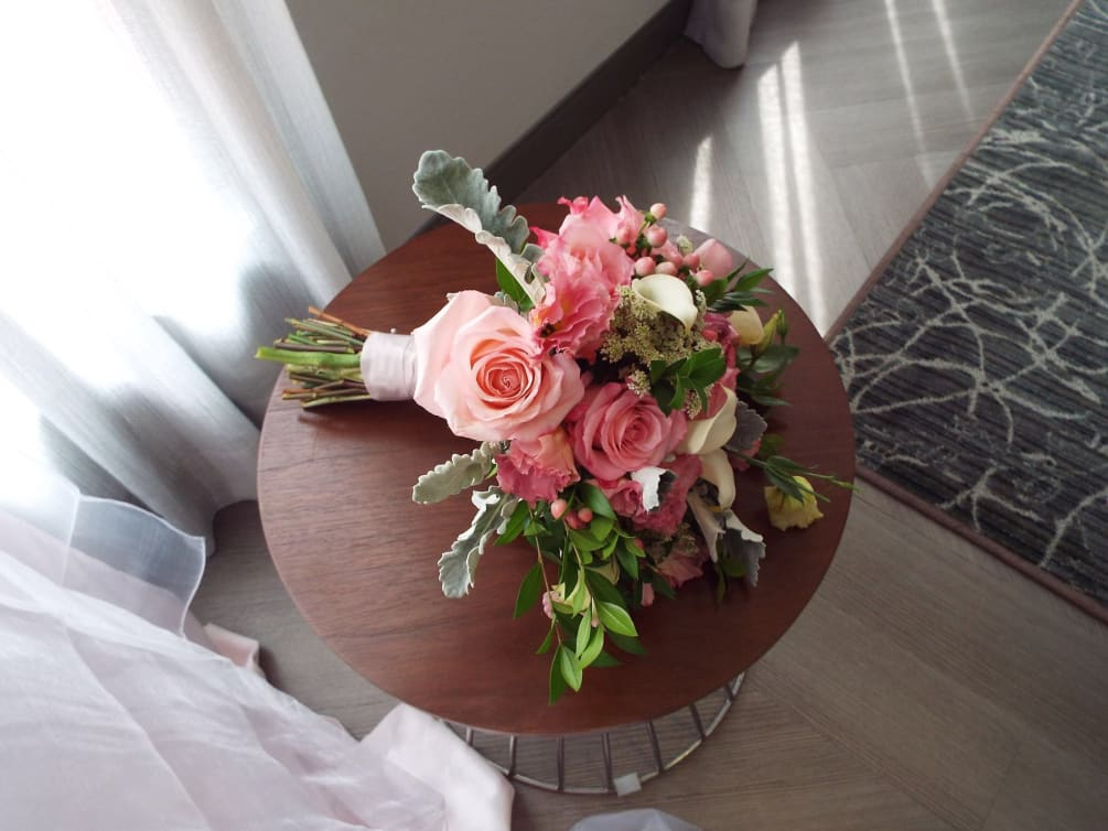 Hand Tied Bouquet Wedding