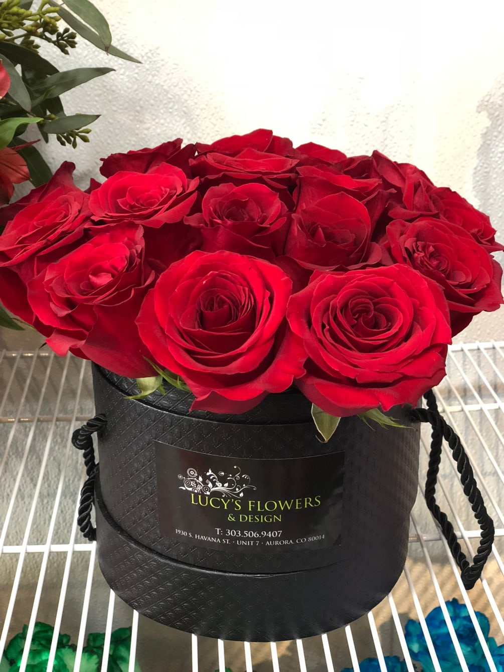 Signature Rose Basket By Lucy S Flowers Design