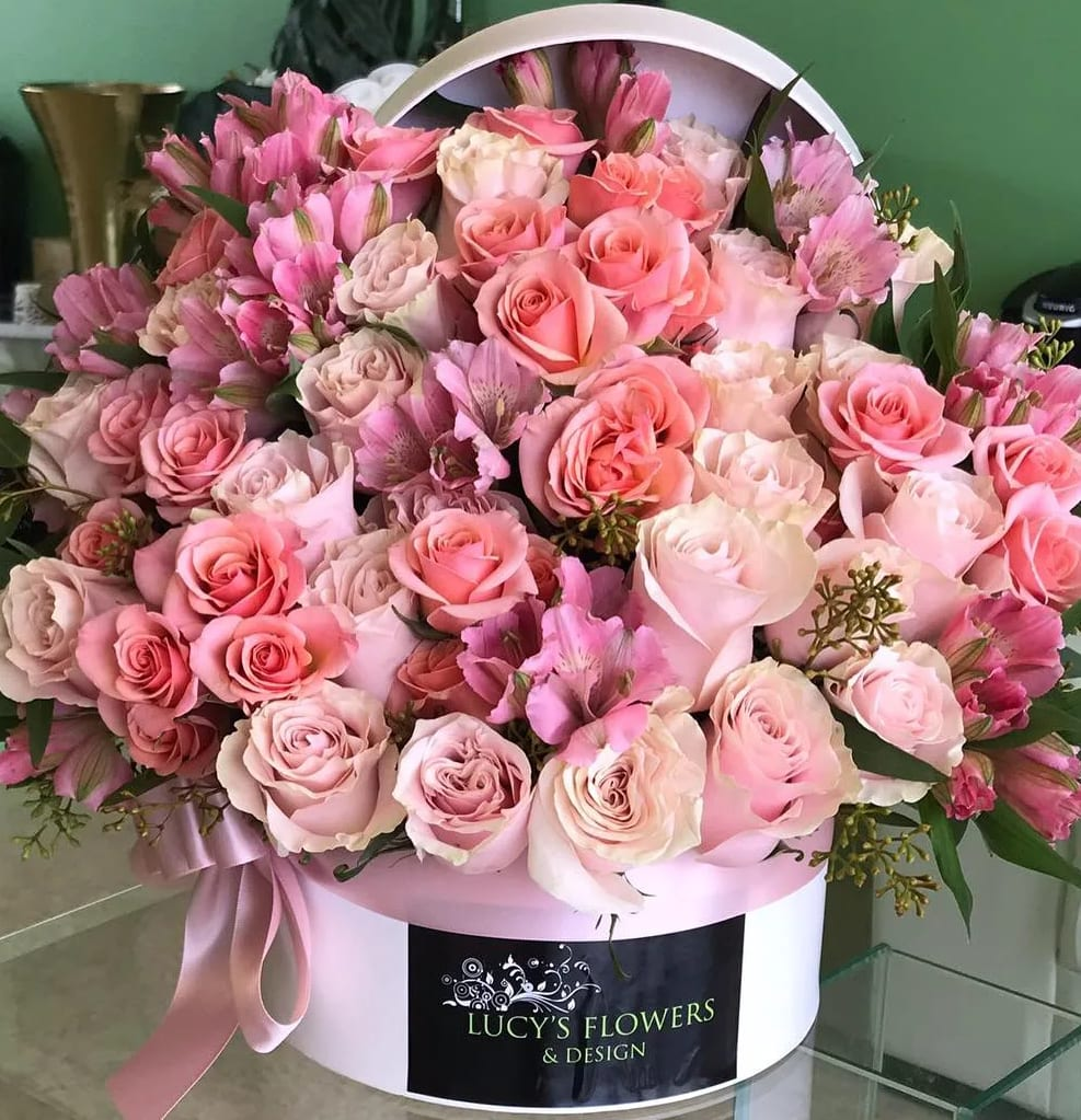 Rose Box 1 By Lucy S Flowers Design