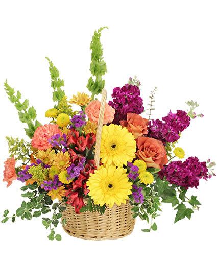NormanOkVictoria Mcbride Creations Floral Flavor Basket In byf6Y7gv