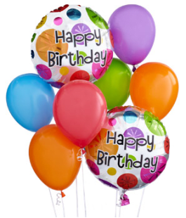 Happy Birthday Balloon Bouquet In Orlando FL