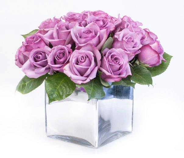 Lavender Rose Box - Hollywood Florist