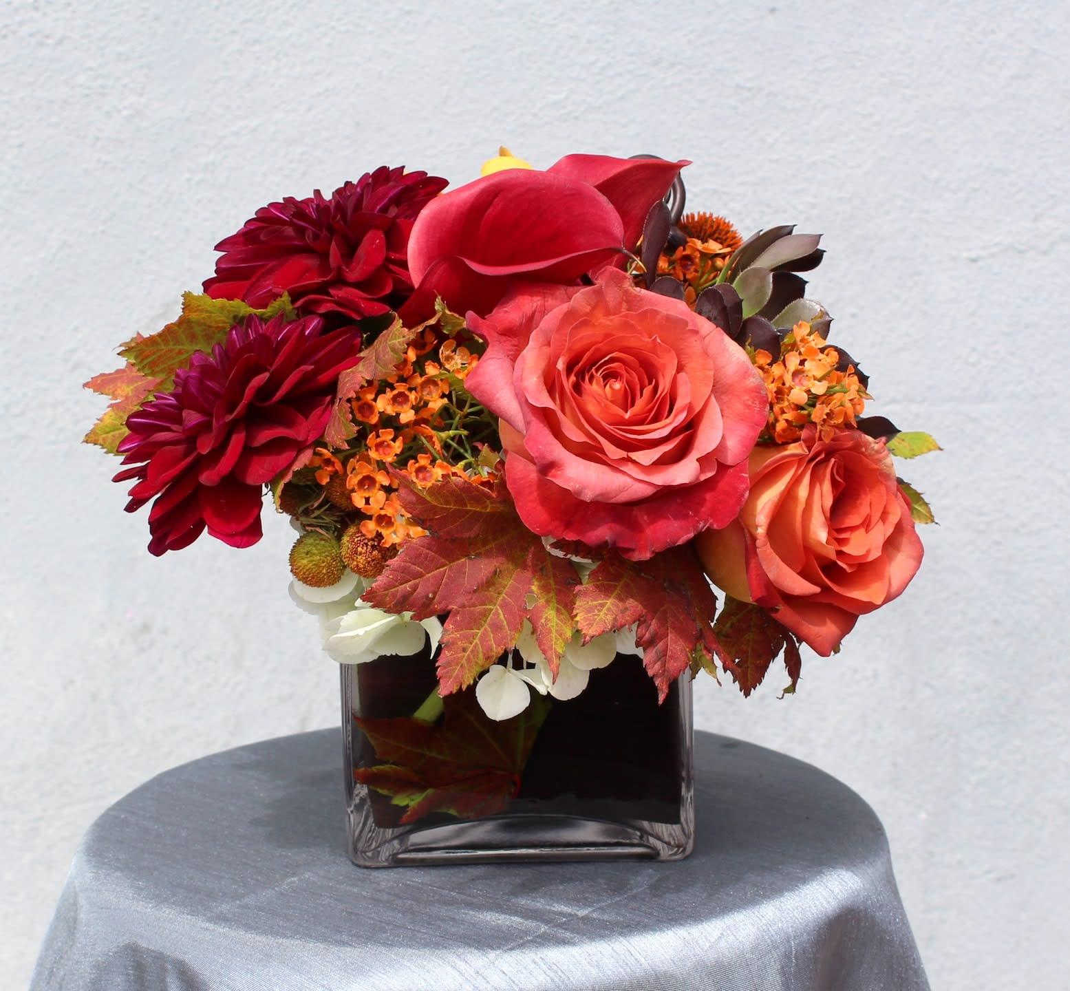 Roses Callas Dahlias In Santa Monica Ca Fleurs Du Jour