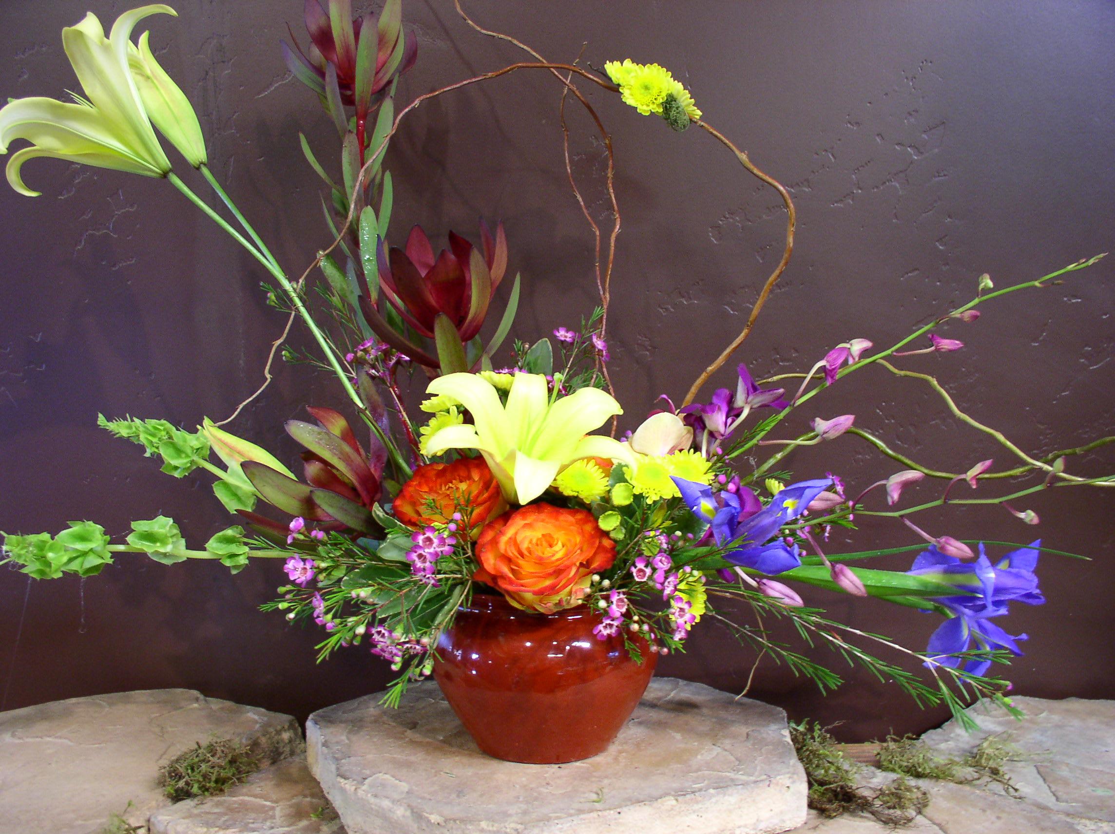 Horizontal Spring In Santa Maria Ca Jp Designs Floral