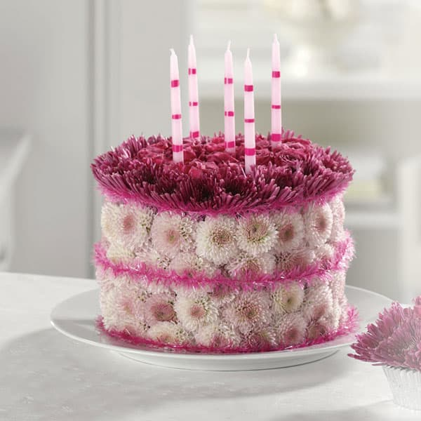 Blooming Birthday Cake In Goshen VA