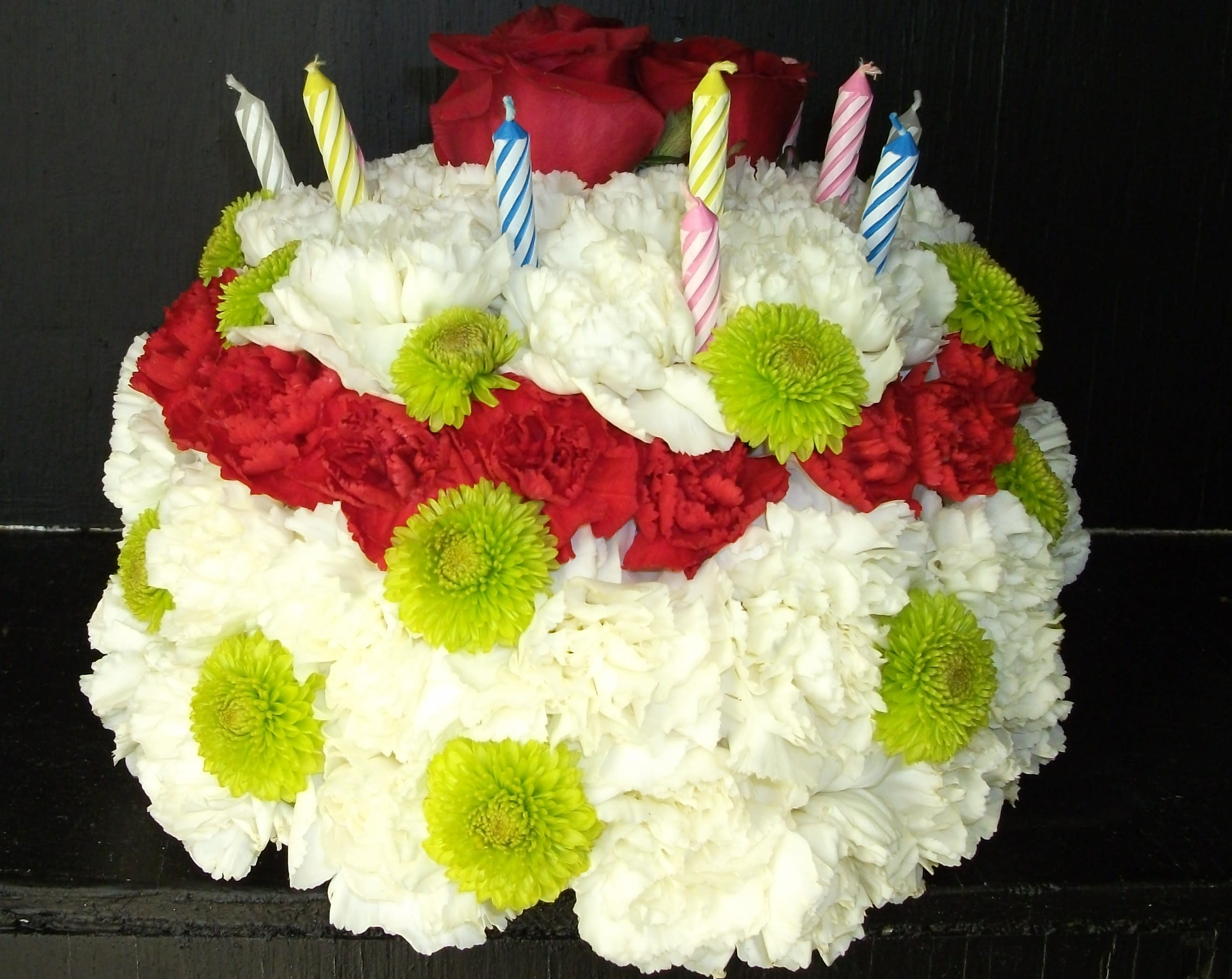 Birthday Cake Flowers In Troy OH