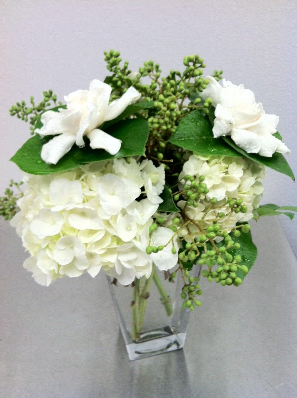 Elegant Gardenia Bouquet in Manhattan Beach, CA