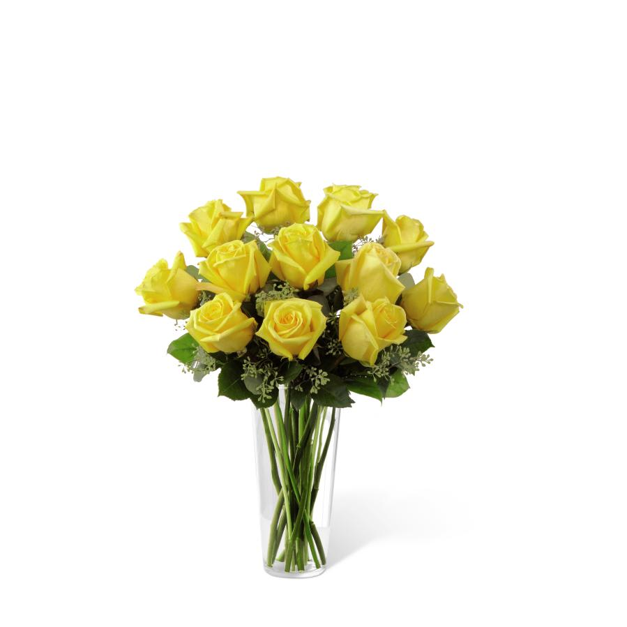FTD Yellow Rose Bouquet