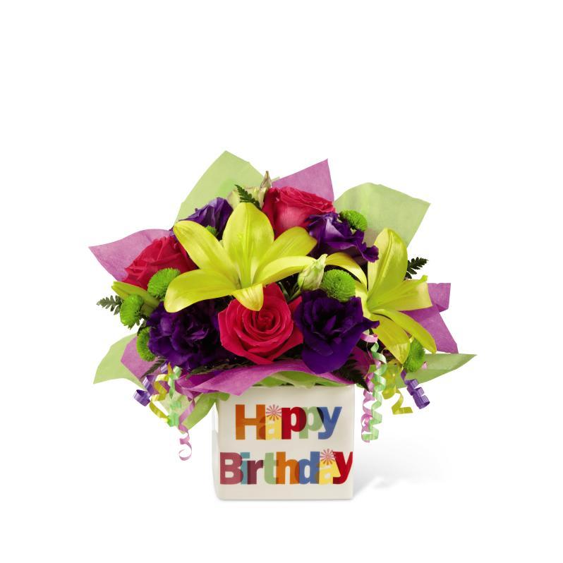 Ftd Happy Birthday Bouquet In Thomson Ga Pea Hill Flowers