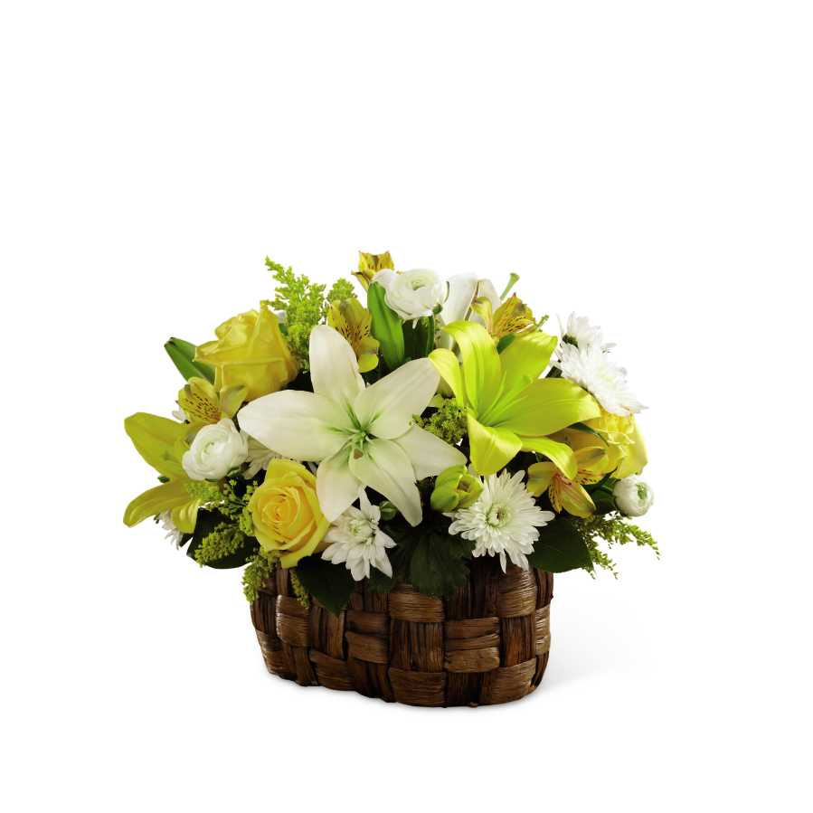 The Ftd Natures Bounty Basket In Frederick Md Amour Flowers