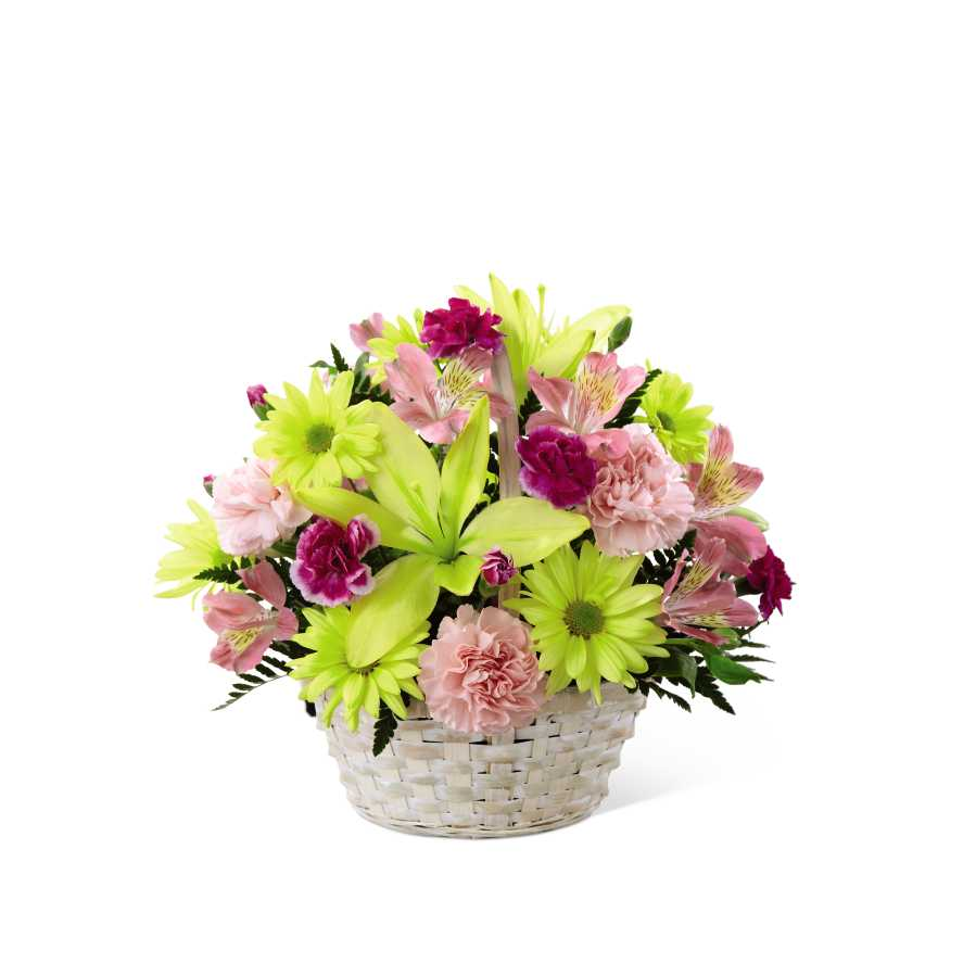 The Ftd Basket Of Cheer Bouquet In Frederick Md Amour Flowers