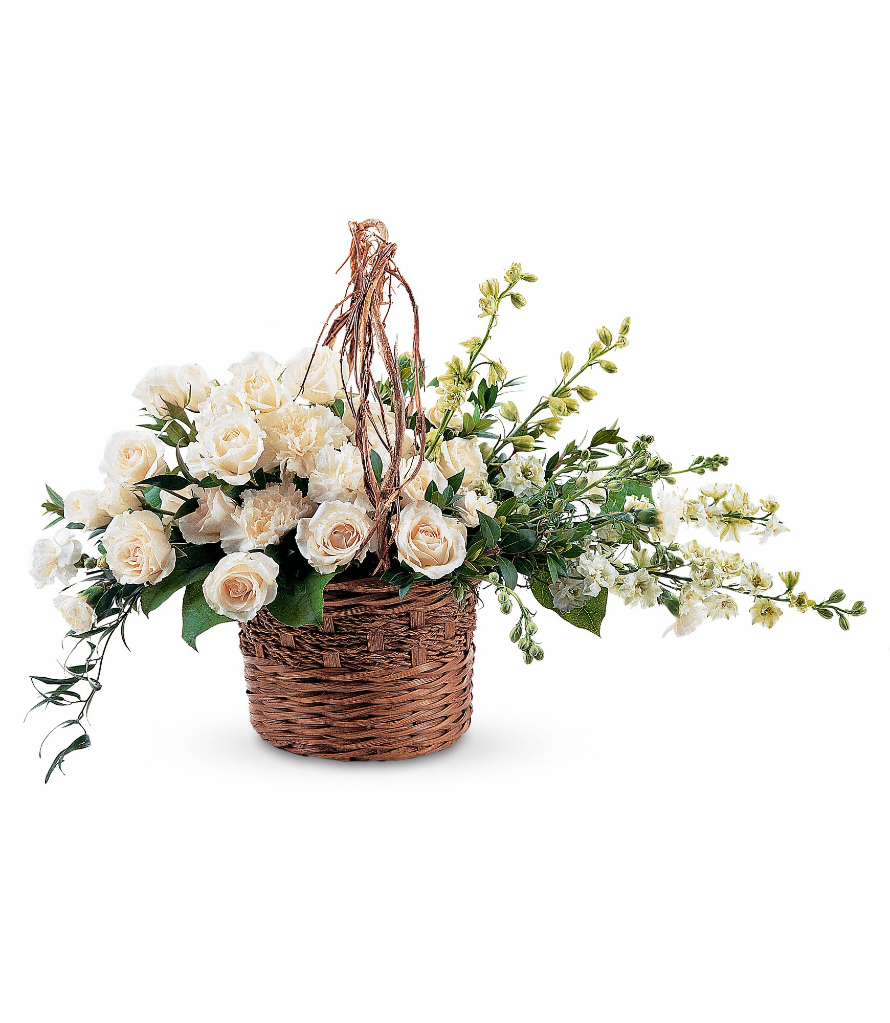 Basket Of Light By Teleflora In Platte City Mo Platte City Flowers And Gifts