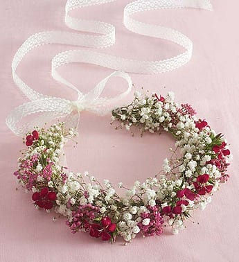 Fresh Flower Floral Crown In Ipswich Ma Ipswich Hearts N Flowers