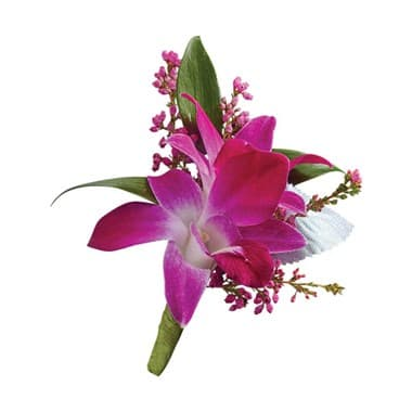 1-800-FLOWERS® PURPLE DENDROBIUM ORCHID BOUTONNIERE