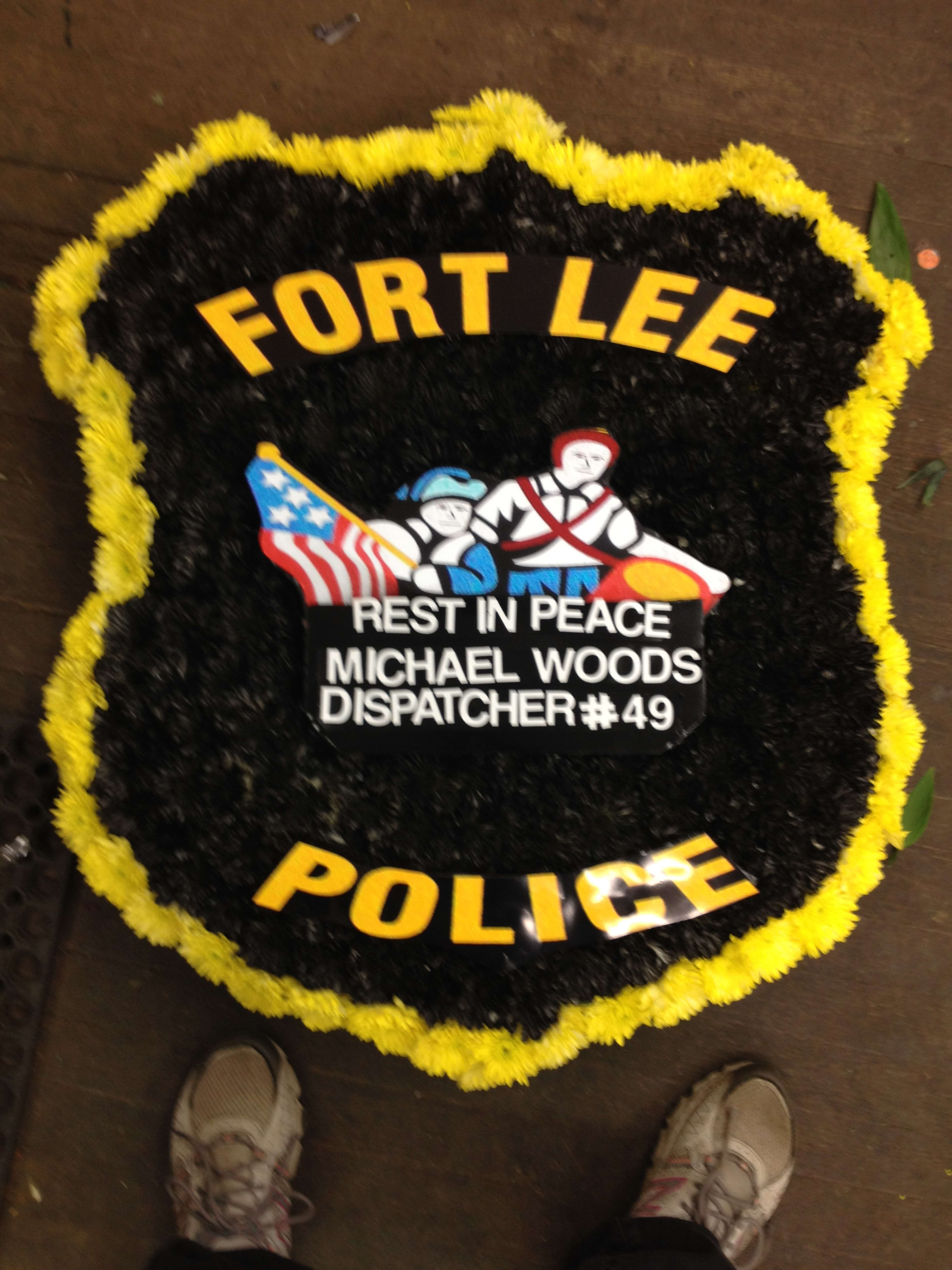Custom Police Badge in New City, NY | Bassett Flowers