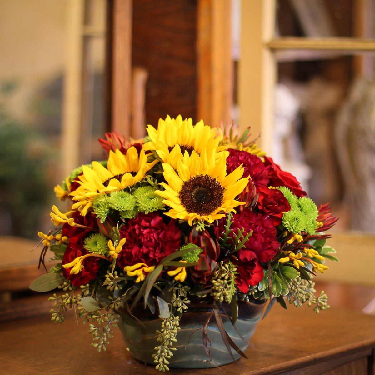 Autumn In The Air In Anoka Mn Main Floral