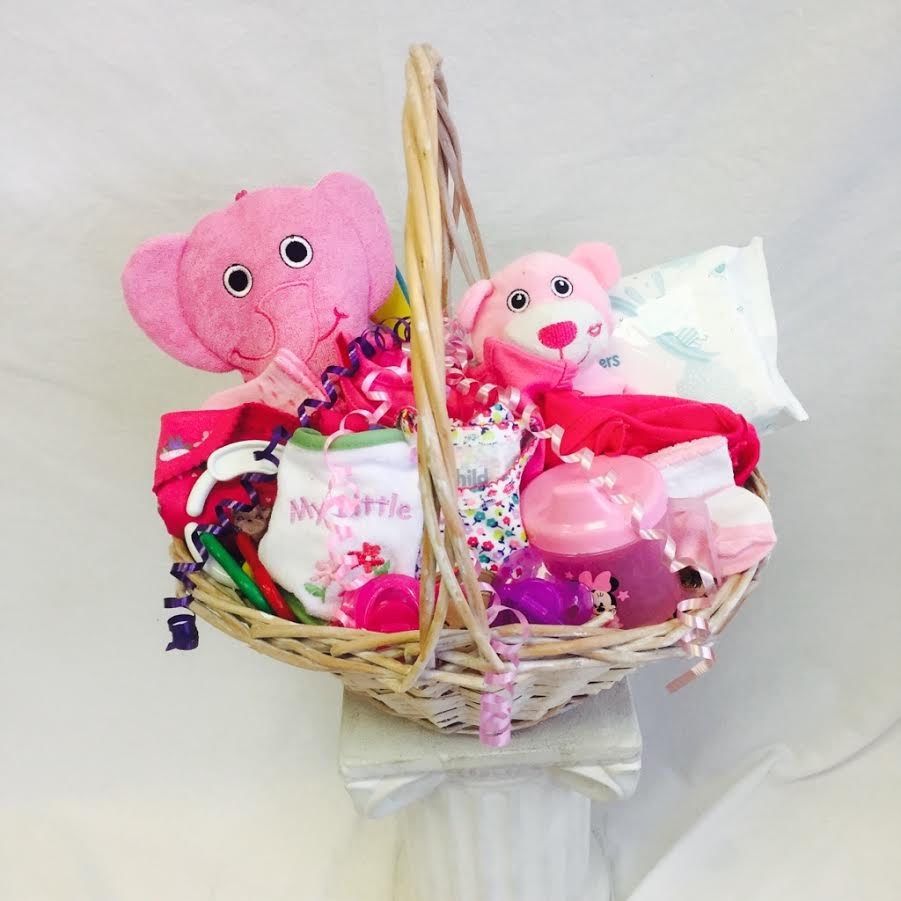 340d6ee36f54c New Arrival Baby GIRL Gift Basket in Matawan