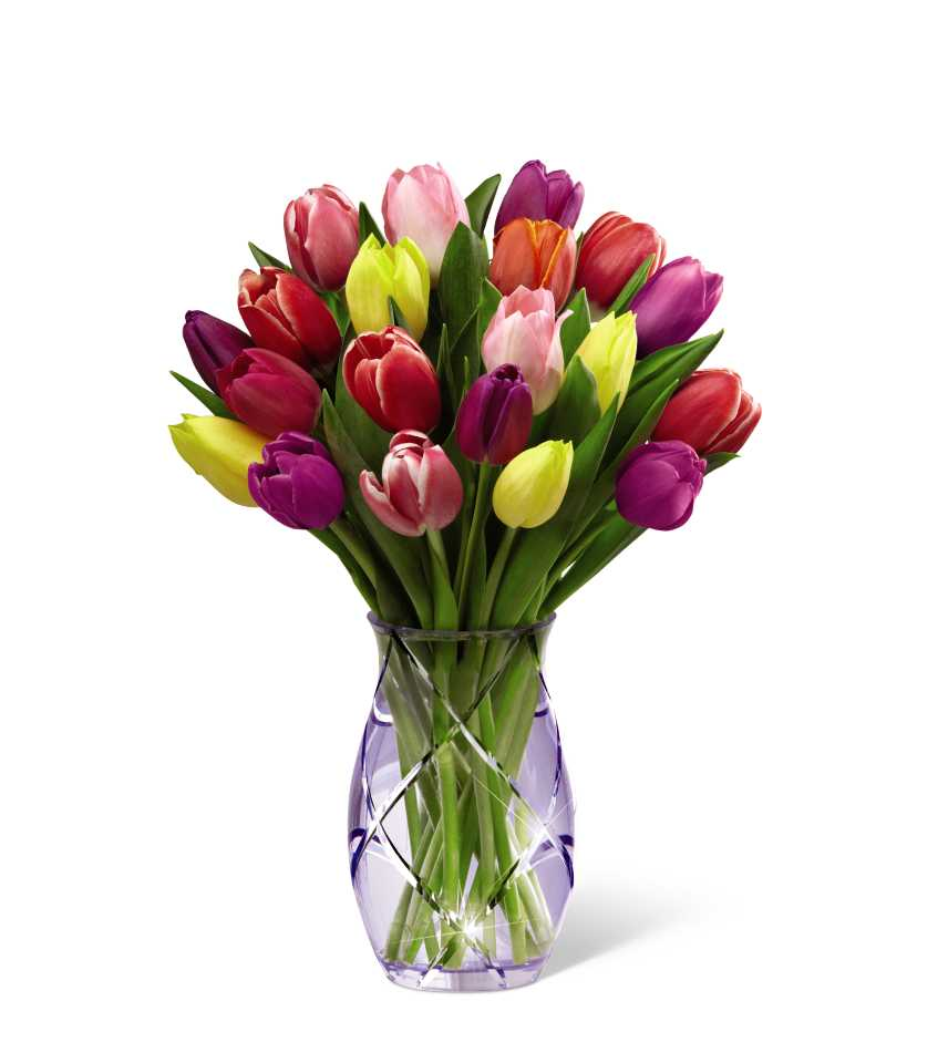 The FTD Spring Tulip Bouquet By Better Homes And Gardens