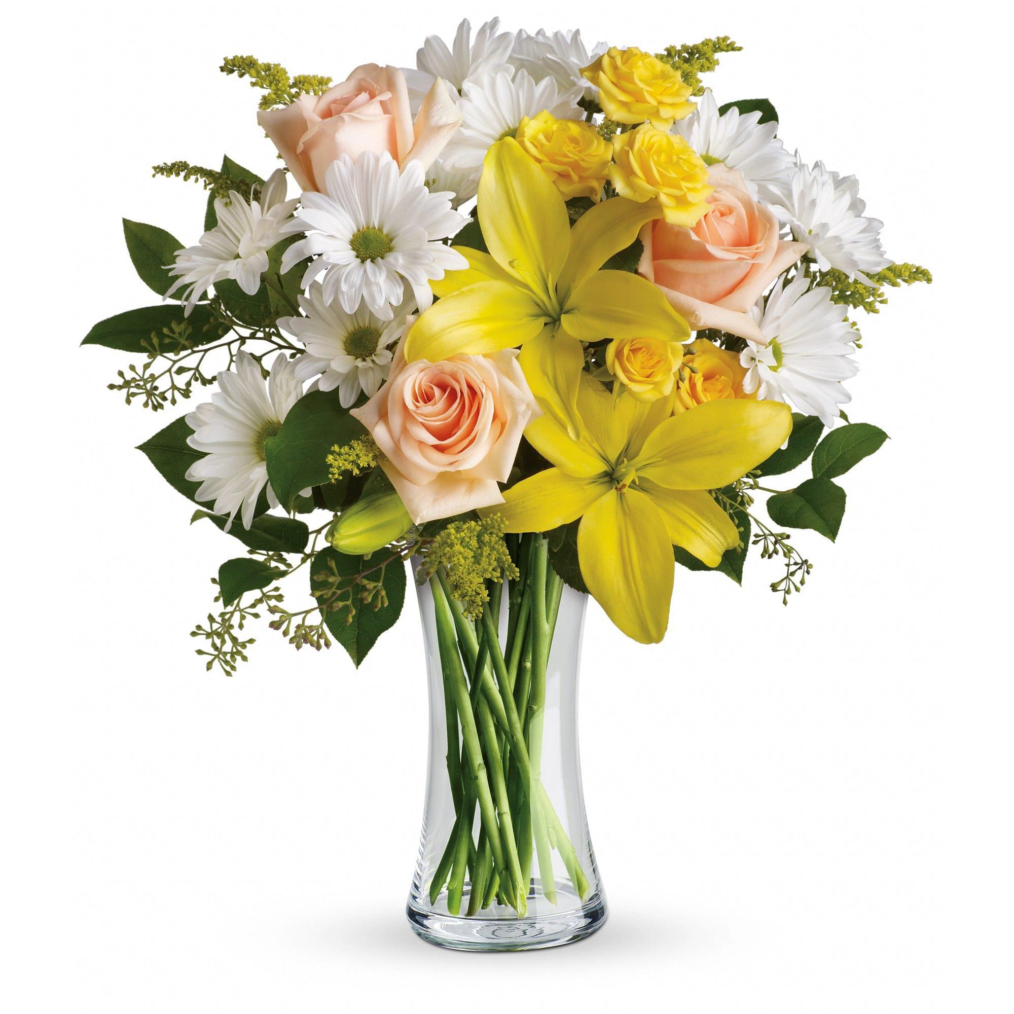 Teleflora S Daisies And Sunbeams In Decatur Al Simpson S Florist