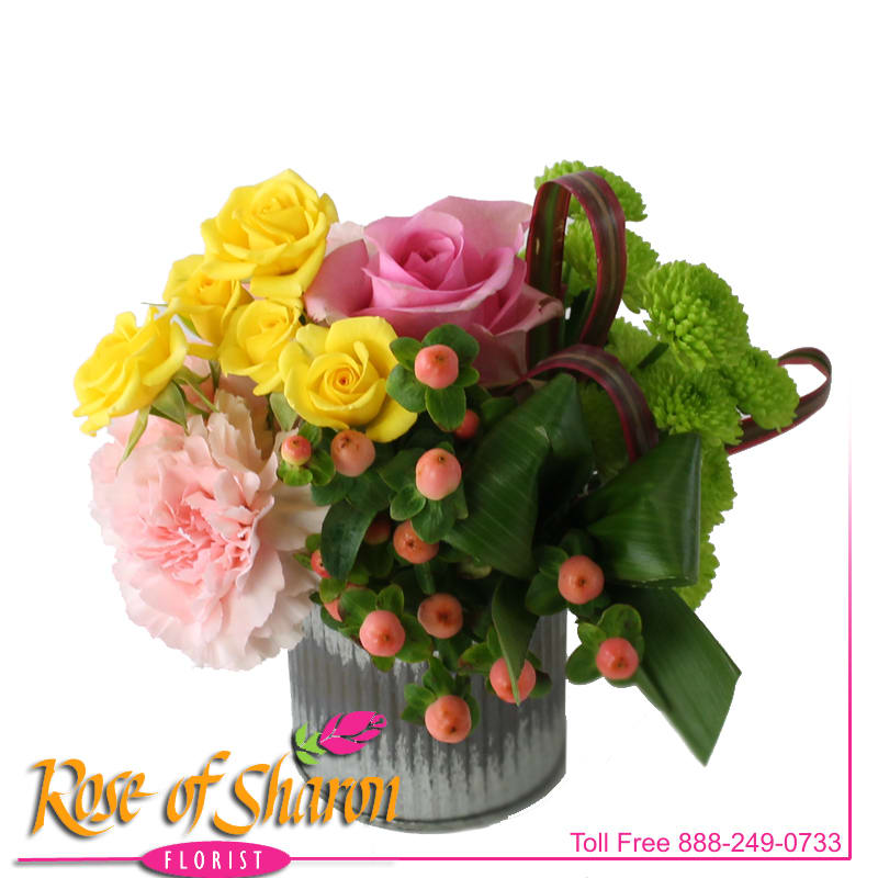 2518 Miki Mixed Bouquet In Santa Maria Ca Rose Of Sharon Florist