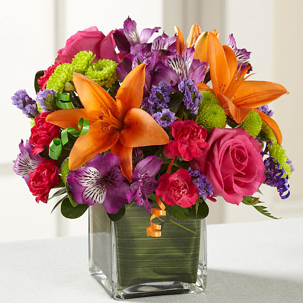 The FTD Birthday Cheer Bouquet D2-5189 In Sanford, NC