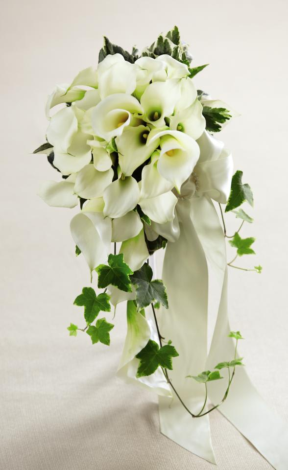 White Calla Lily Bouquet In Hampton Falls Nh Flowers By Marianne