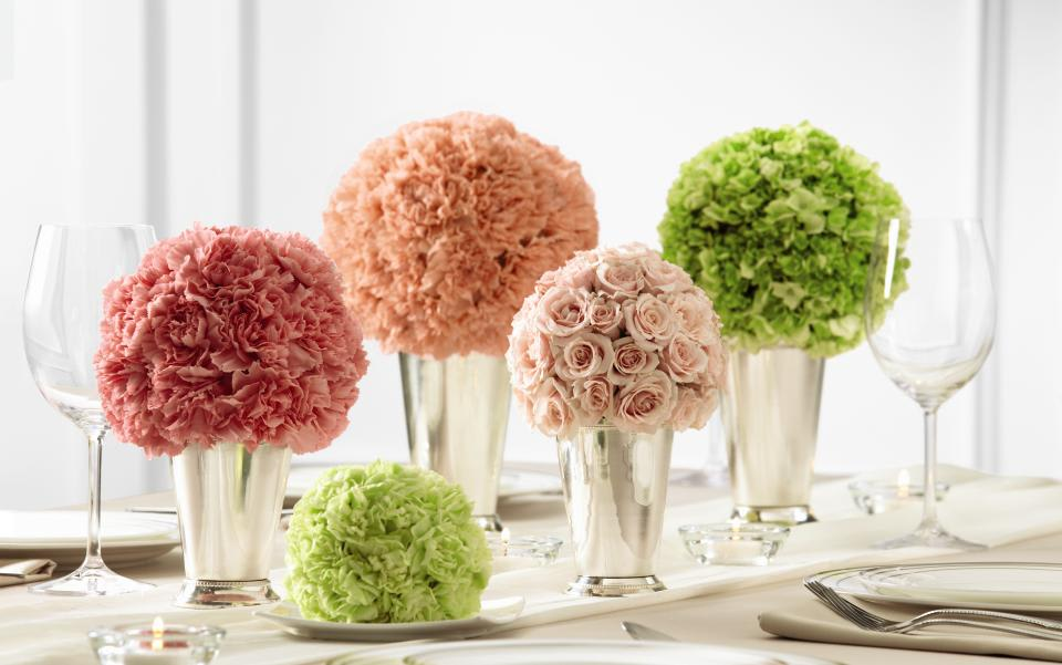 Splash Of Color Centerpieces In Hampton Falls Nh Flowers By