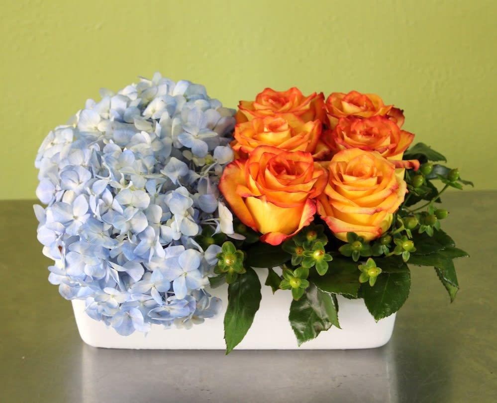 Rose Box By Athletic Club Flower Shop