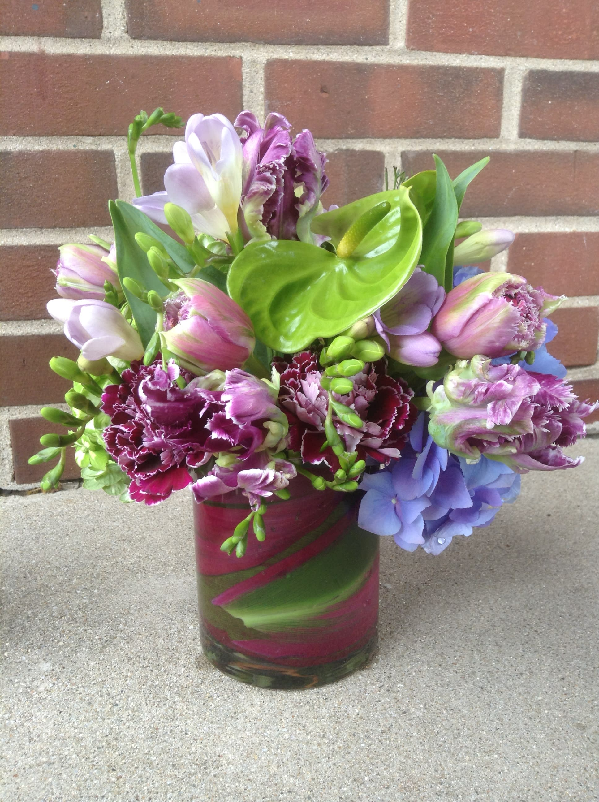 Purple Rain in Fort Mitchell, KY   Art Floral