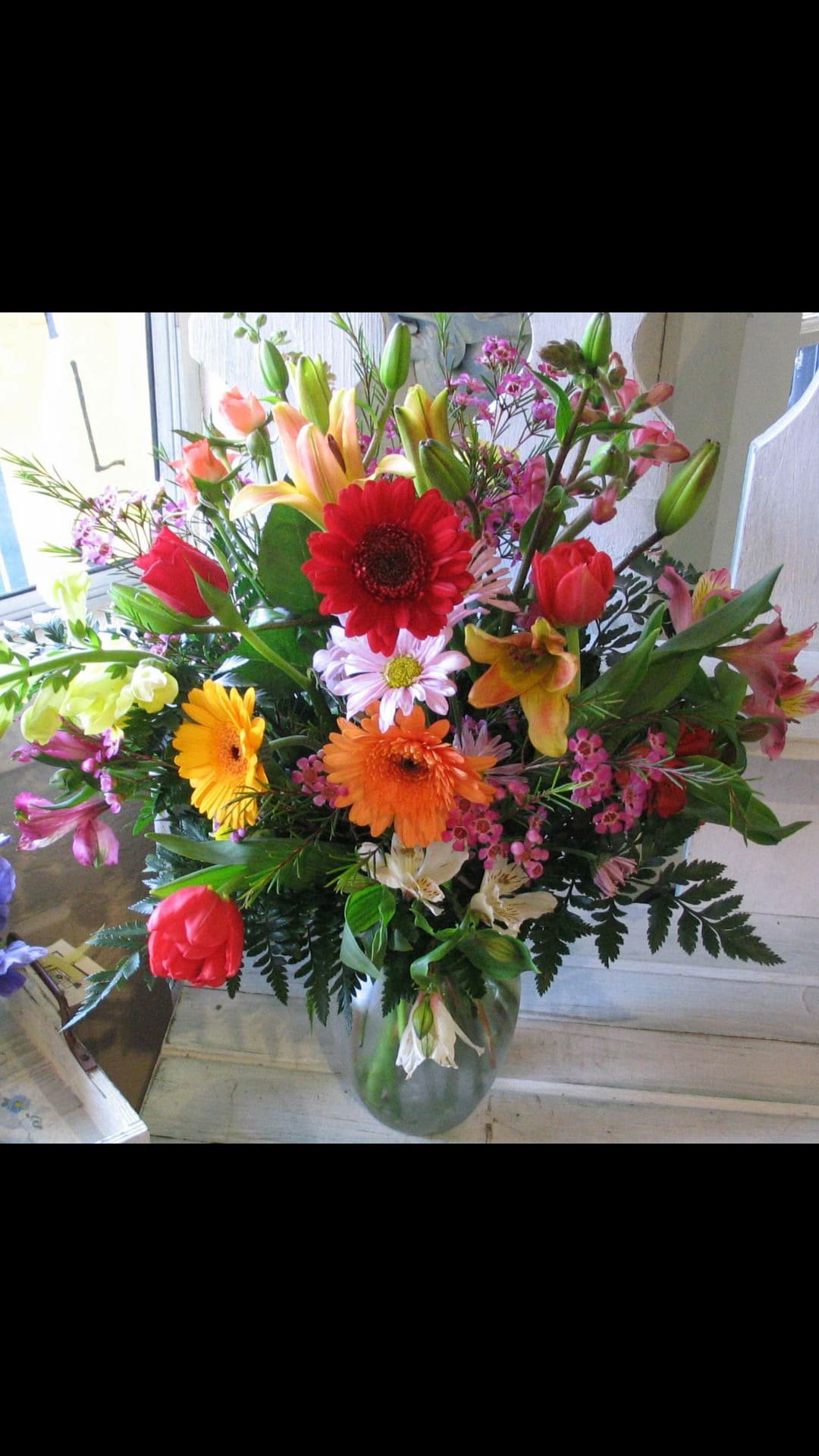 Live Happy Bouquet In Germantown Md Jireh S Flowers